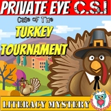Thanksgiving Reading Comprehension Mystery - Making Inferences - CSI