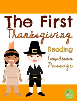 The First Thanksgiving Reading Comprehension Passage & Questions