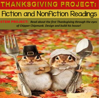 Thanksgiving Reading Comprehension Passages and STEM Project