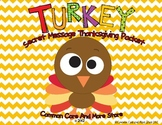 Thanksgiving Reading Comprehension and fun Packet for November  Grade 3 4 5
