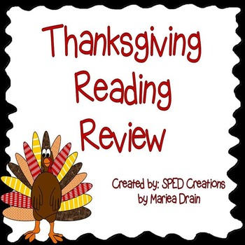 Thanksgiving Reading Review
