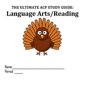 Thanksgiving Reading Review Packet!