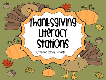 Thanksgiving Reading Stations