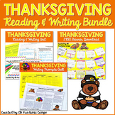 Thanksgiving Reading & Writing Activities Bundle for Middl