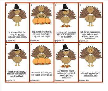 Thanksgiving Receptive Language Pack