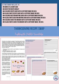 Thanksgiving Recipe Swap ( Grades 3-7)