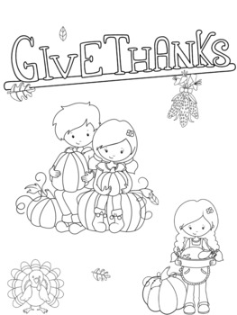 Thanksgiving Reflections for K-1
