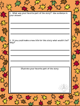 Thanksgiving Retell
