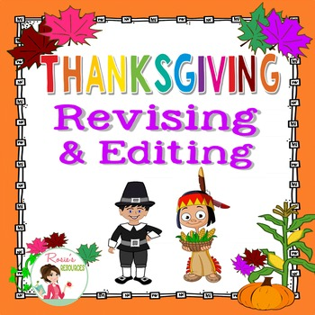 Thanksgiving Revising and Editing