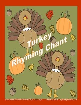 Thanksgiving Rhyme Chant