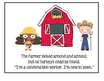 Thanksgiving ~ No Turkeys Here