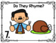 Thanksgiving Rhyming Digital Phonemic Awareness Learning Station