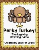 Thanksgiving Rhyming Game! Great Center or Party Activity!