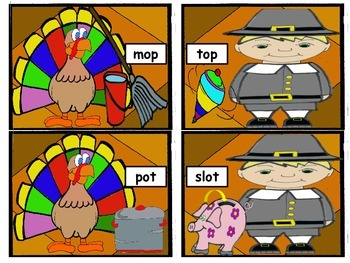 Thanksgiving Rhyming Practice