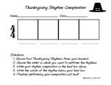 Thanksgiving Rhythm Composition