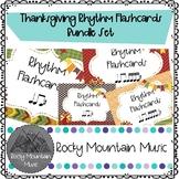 Thanksgiving Rhythm Flashcard Sets