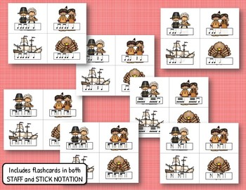 Thanksgiving Rhythm Relays - BUNDLE of 7 Rhythmic Games!