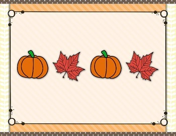 Thanksgiving Rhythm Syllables