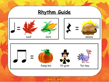 Thanksgiving Rhythm Work
