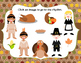 Thanksgiving Rhythms- An Interactive Rhythm Game {Quarter Note, Quarter Rest}