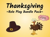 Thanksgiving Speaking Activity (ESL/ELA Role Play Bundle Pack!)