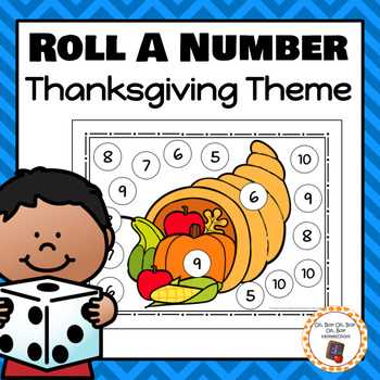 Thanksgiving Roll A Number