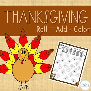 Thanksgiving Roll, Add & Color!
