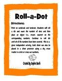 Thanksgiving Roll a Dot Game