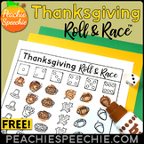 Thanksgiving Roll and Race Open Ended Reinforcement