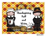 Thanksgiving Roll and Write