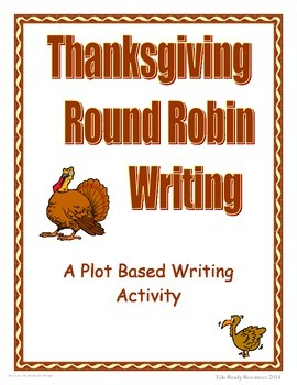 Thanksgiving Writing - Round Robin Prompts