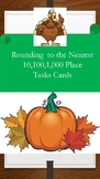Thanksgiving Rounding Unit Task Cards