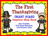 SMARTboard Thanksgiving Sequencing Story & Worksheet (Directions included)