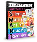 SMART Thanksgiving Activities: Science, Math, Art, Reading
