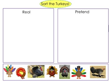 Thanksgiving SMART notebook for Early Childhood & Special Education