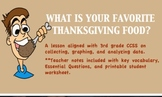 Thanksgiving SMARTboard Data Collecting, Graphing, Analyzi