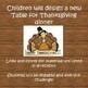 Thanksgiving STEAM Design Challenge - Thanksgiving Table