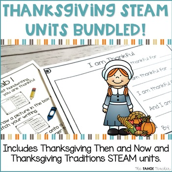 Thanksgiving Science Units Bundled! | STEAM Centers for Primary Grades