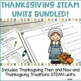 Thanksgiving STEAM Units Bundled! | Science Centers for Pr