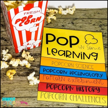 Thanksgiving STEM Activity | Popcorn STEM Activity and Science