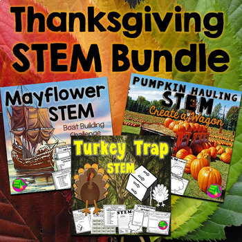 Thanksgiving STEM Bundle