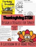 Thanksgiving STEM Challenge   Design a Disguise for Turkey