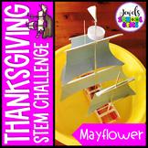 November Thanksgiving STEM Challenge (Mayflower Thanksgiving STEM Activity)