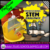 Thanksgiving STEM Challenge (Mayflower Thanksgiving STEM A