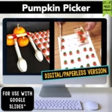 Thanksgiving STEM Challenge Pumpkin Picker 1:1 PAPERLESS