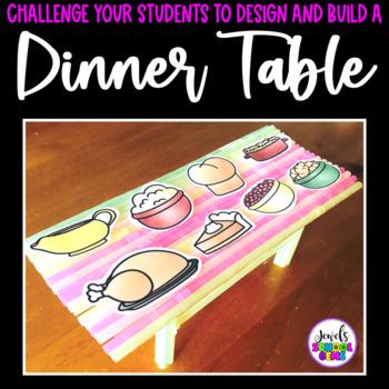 November Thanksgiving STEM Challenge (Table Thanksgiving STEM Activity)
