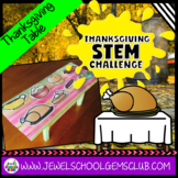 November Thanksgiving STEM Challenge (Table Thanksgiving S