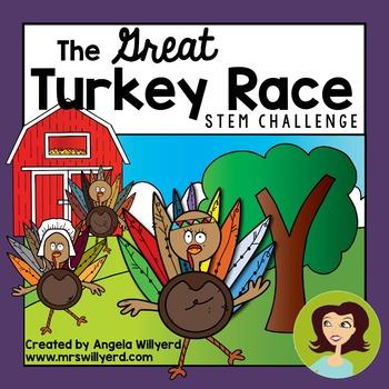 Thanksgiving STEM Challenge: The Great Turkey Race - SMART Board  - Grades 3-5