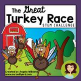 Thanksgiving STEM Challenge: The Great Turkey Race - SMART Board  - Grades 5-8