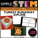 Thanksgiving STEM Challenge Turkey Runaway